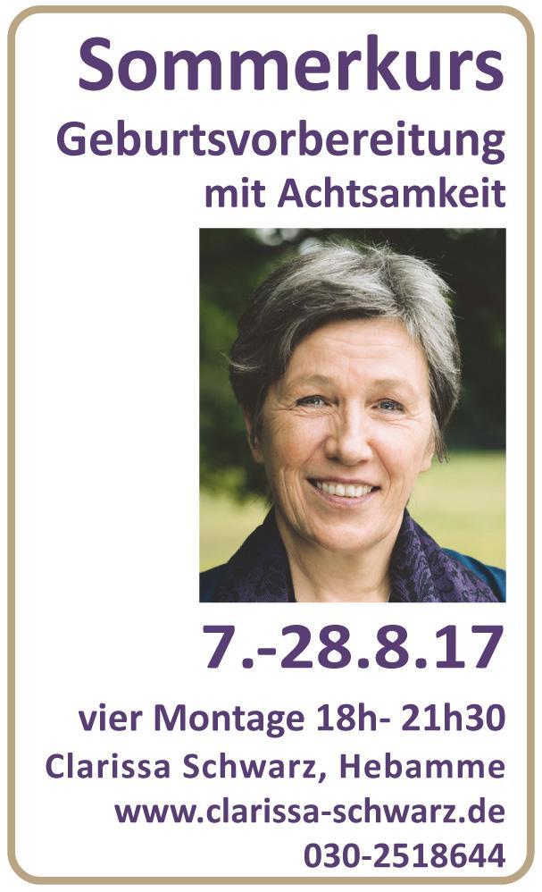 Banner für Clarissa Schwarz